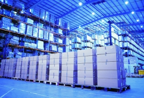 Automatization of large scale warehouse(s) with both existing well known software and special software designed upon request of the company